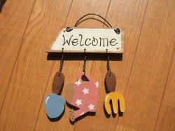 画像1: Welcome ガーデン(ピンク)