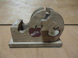 画像1: ミニセロテープスタンド(りんご)