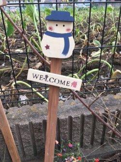 画像1: ガーデンピック大  スノーマンブルー